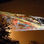 """Projektionen von Gela: """"Bones in Radiation"""""""