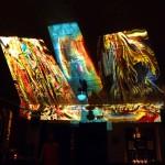 Projektion: Kunst von Heinz Udo Zemlin - HUZ