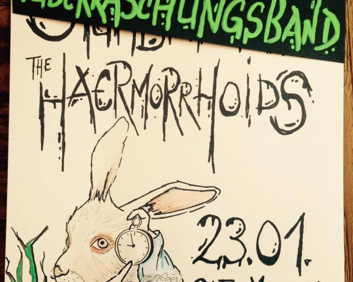 Haermorrhoids + Überraschungsband