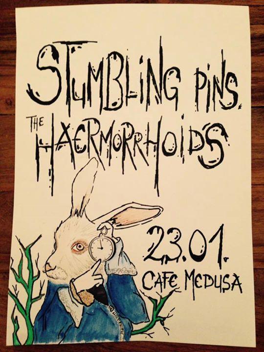 Haermorrhoids und Stumbling Pins