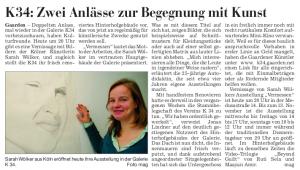 KN 13.11.2008 - Ausstellung - Vermessen - Von Sarah Wölker