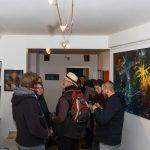 Im vorderen Raum der Galerie
