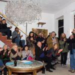Während des Konzerts im Hinterhaus
