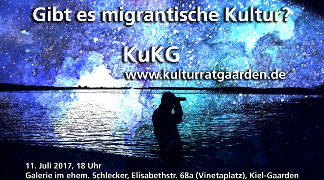 Flyer - gibt es migrantische Kultur