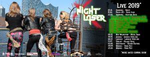 Night Laser, Kikamora (UK), Wyld Paradise